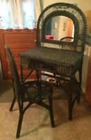 Wicker Vanity Set Miramichi New Brunswick Preview