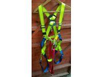 Safety harness g force scaffolder roofer