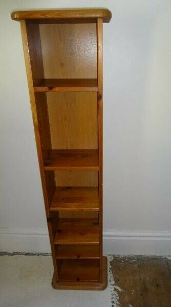 Amazing Dvd Cd Paperback Book Storage Tower Rack Shelf Unit In Kendal Cumbria Gumtree Download Free Architecture Designs Embacsunscenecom