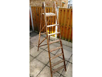 Wooden painters step ladder