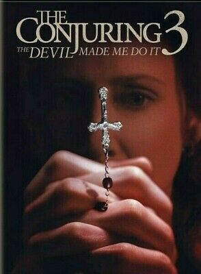 The Conjuring 3: The Devil Made Me Do It [DVD] [2021] NEW*** FREE SHIPPING!!!