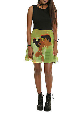 The Princess And The Frog Dress (Disney $34.50 The Princess And The Frog Kiss Dress Juniors, NEW! FREE)