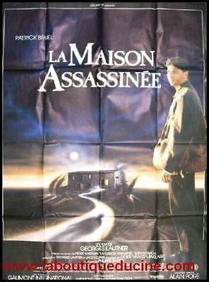 LA MAISON ASSASSINEE Affiche Cinéma / Movie Poster PATRICK BRUEL