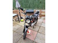 Yamaha 125cc, 11 Months Mot, Low millage, 2013
