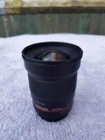 Samyang 24mm f/1.4 for Canon EOS