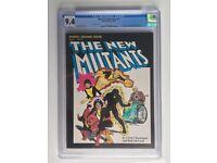Marvel Graphic Novel 4 The New Mutants Variant