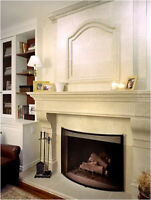 Stone Fireplace Mantels 52% off + $500 CashBack *Boxing Day Now*