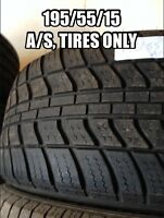 195/55/15, One all season tire