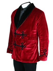 Vintage Antique Velvet smoking jacket