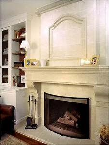Biggest Sale 50%off +$200 Cashback Stone Fireplace Mantel Mantle Regina Regina Area image 9