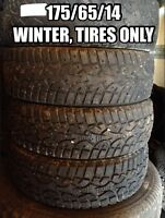 175/65/14, Four winter tires