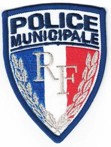 Police Municipale France Silver Police Patch