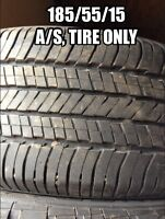 185/55/15, One all season tire