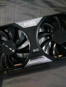 Graphics card for sale! Evga GTX 760 2gb Superclocked