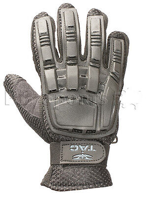 Valken V-Tac Black Tactical Full Finger Paintball Gloves X-Large XL NEW