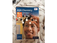 AQA chemistry A level year 1 and AS text book