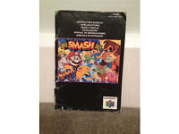 Super Smash Bros Instruction Manual N64