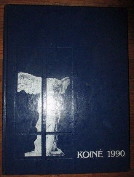 Koiné 1990 Connecticut College Yearbook Annual from New London, CT