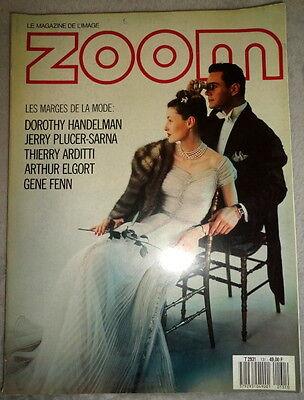 Vtg French ZOOM Photo 1985 131 Arthur Elgort Christy Turlington Bertrand Crouzat