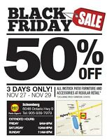 DOT Furniture Schomberg 50% Off 3 Days Only!