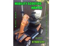 ~mobility scooter wanted~