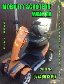mobility scooter wanted !!!