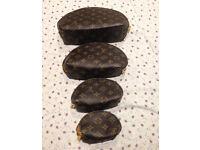 Louis Vuitton set of 4 pouches