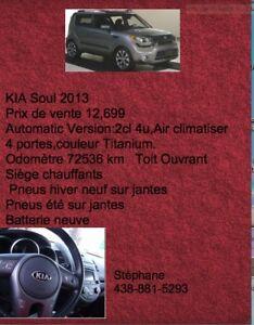 2013 Kia Soul Familiale