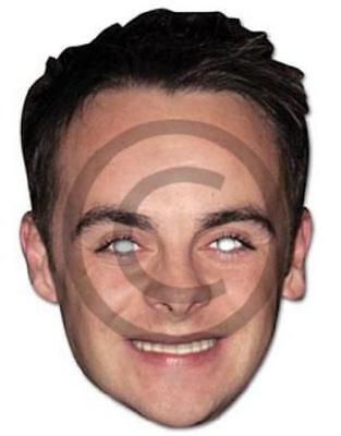 Promi Kostüm Maske Ameise von Ant & Dec Karte Maske von Mask-Arade Neu