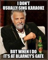 Karaoke Events at Blarney's Gate in Mississauga