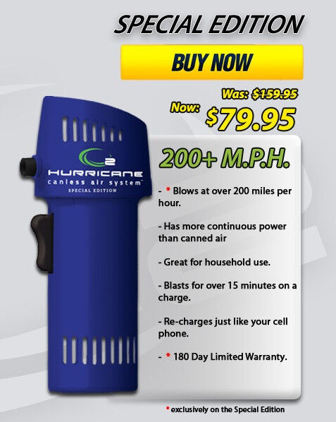 Canless Air Systems Special Edition 200+ Miles Per Hour CA202-SPED