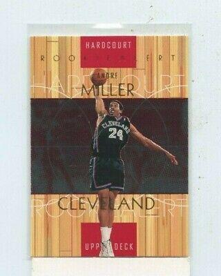 ANDRE MILLER 1999-00 UPPER DECK HARDCOURT ROOKIE ALERT ROOKIE CARD RC # -