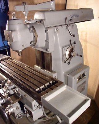 11 X 43 Shizouka 5 Hp Universal Milling Machine Nice