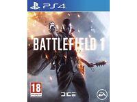 Battlefield 1 & FIFA 17