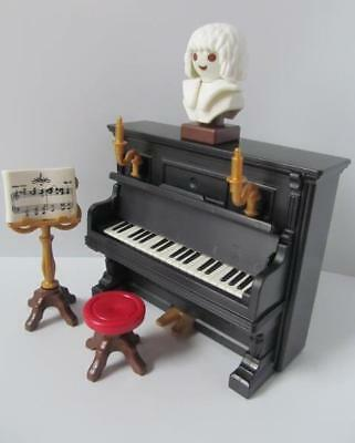 Playmobil Victorian/Dollshouse/School Musical instrument - Upright Piano NEW