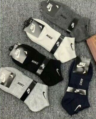 Nike socks No Show Ankle trainer socks Brand New - 5 Different Colours Available