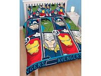 Marvel avengers reversible double bedding.