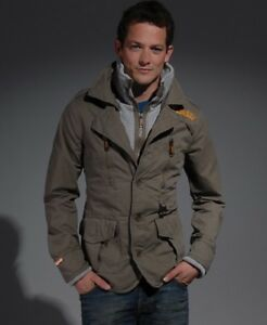 Superdry Rifleman Blazer Jacket XL Beige