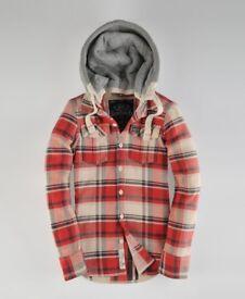 Superdry lumberjack shirt/jacket