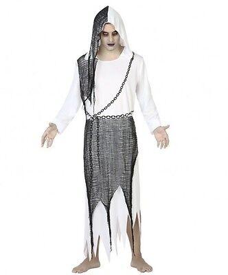 Disfraz Hombre DEMONIO blanco XL Esprit Halloween Fantasma Esprit NUEVO (Halloween Fantasma Disfraz)