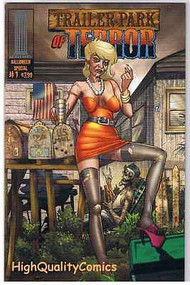 TRAILER PARK OF TERROR #1, NM, Zombies, Halloween,  Variant, Horror, Movie