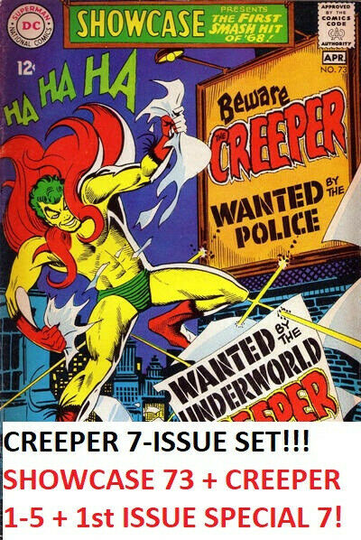 Showcase 73 + Creeper 1-5 + First Issue Special 7 (DC) STEVE DITKO