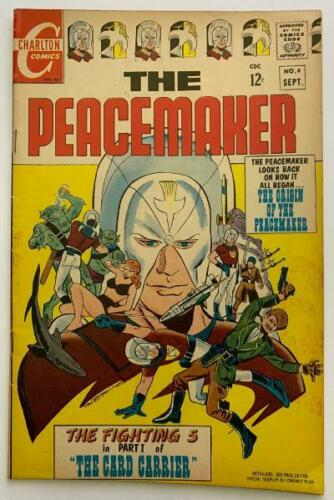 (1967) PEACEMAKER #4! HBO John Cena Series soon! Suicide Squad movie!