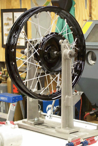 Looking for someone to lace and true spoke wheels