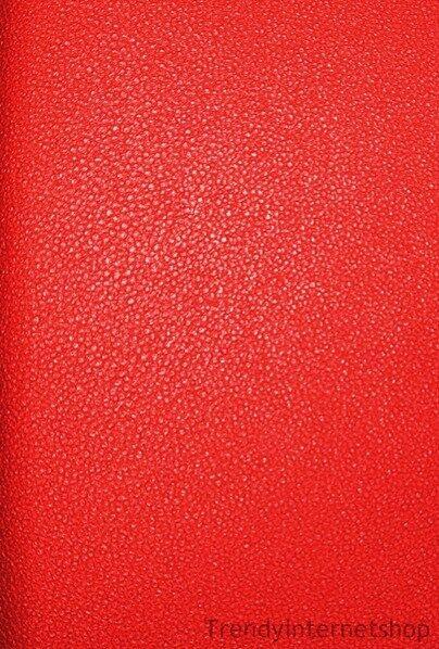 Vlies Tapete Glööckler 52565 Uni einfarbig rot metallic