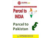 Courier, Excess Baggage, Parcel to India & Pakistan from £2.35 per/Kg** call on 02036171708