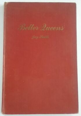 Better Queens Classic Beekeeping Bee Hive Jay Smith Hardcover 1st Edition 1949