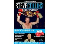 AN EVENING WITH STEVE 'THE CELTIC WARRIOR' COLLINS