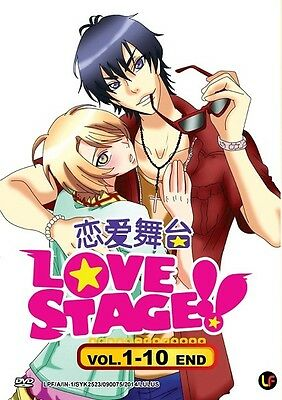 LOVE STAGE TV   Episodes 01-10   English Subs   1 DVD (M2037)-LU