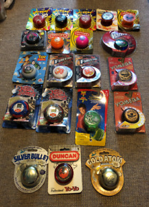 Various Vintage Yo-Yos (Duncan, Yomega etc.) - In Packages